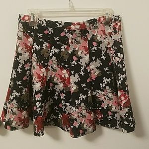 Abercrombie and Fitch Floral Floral Mini Skirt